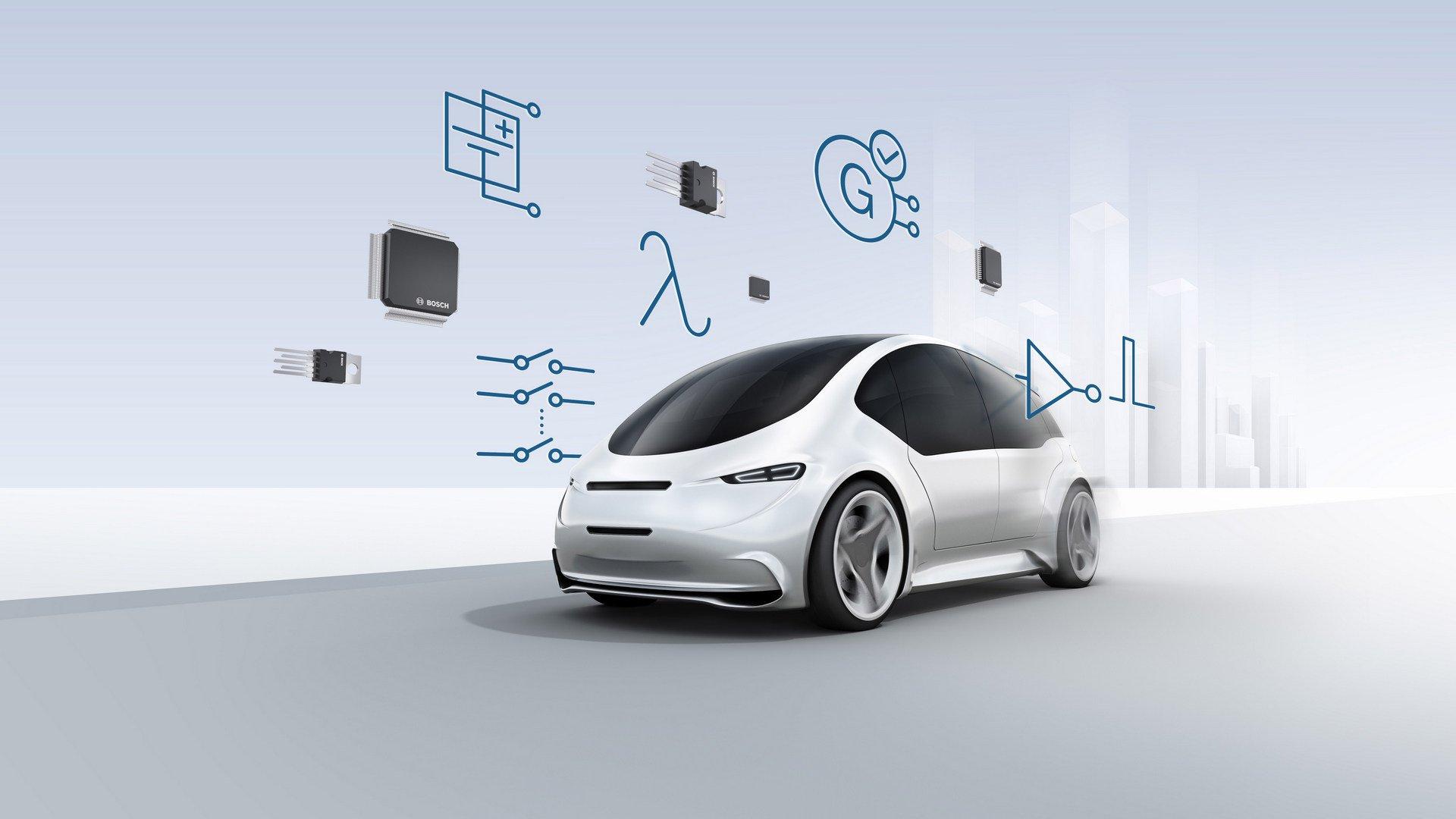 Bosch mostra sistema que através de mini explosões desliga bateria em caso de colisão