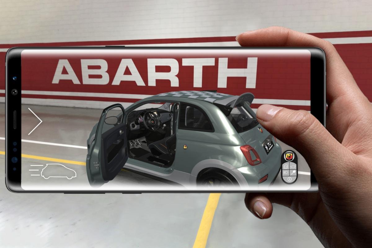 No aniversário de Carlo Abarth, a FCA lança uma nova aplicação para os Abarth
