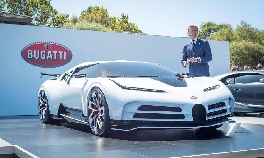 Bugatti quer oferecer um modelo elétrico por menos de 1 milhão de euros