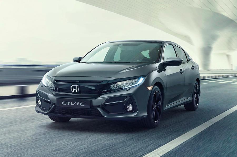 Honda oferece pequena renovação exterior e interior ao Civic