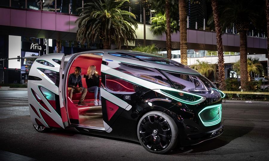 Daimler apresenta Vision Urbanetic Concept, um táxi totalmente autónomo