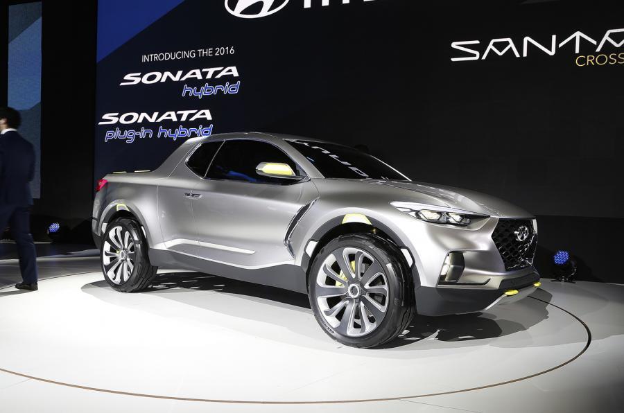 Hyundai confirma pickup Santa Cruz a lançar em 2021