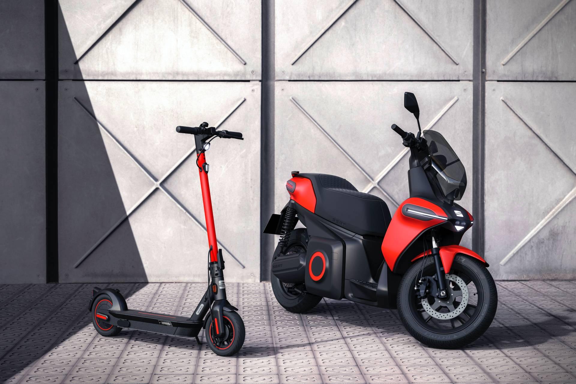 Seat e-Scooter antevê uma solução de mobilidade com 115 km de autonomia