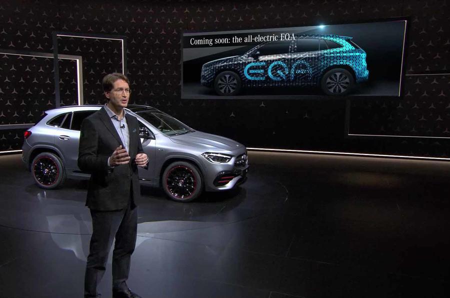 Mercedes confirma EQA para 2020 com estilo semelhante ao do GLA