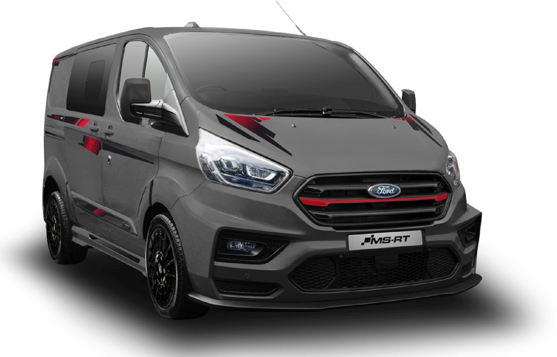 Ford Transit Custom com tratamento MS-RT custa 45.000€