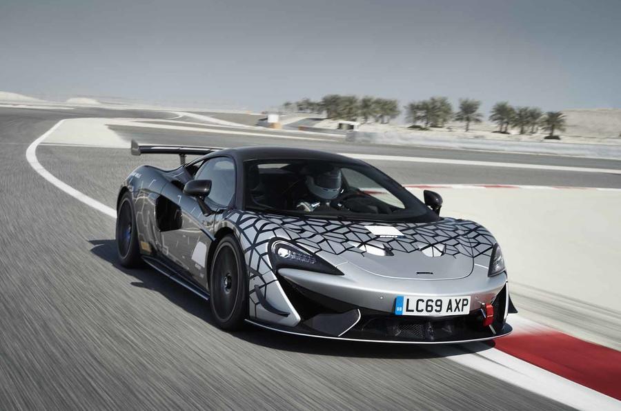 McLaren revela 620R, um GT4 legal para andar na estrada