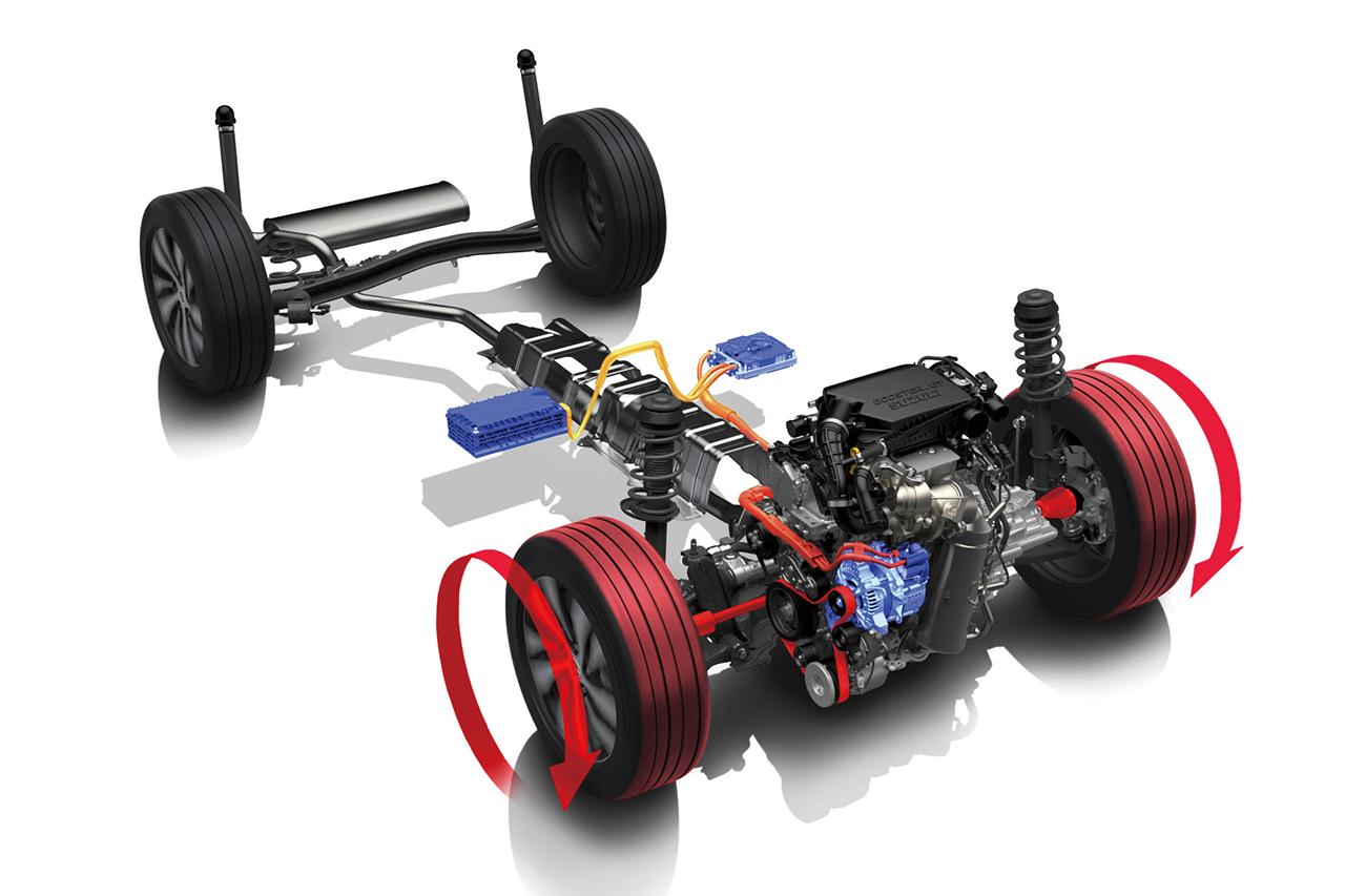 Suzuki revela híbrido com tecnologia 48 volts para os Vitara, S-Cross e Swift Sport