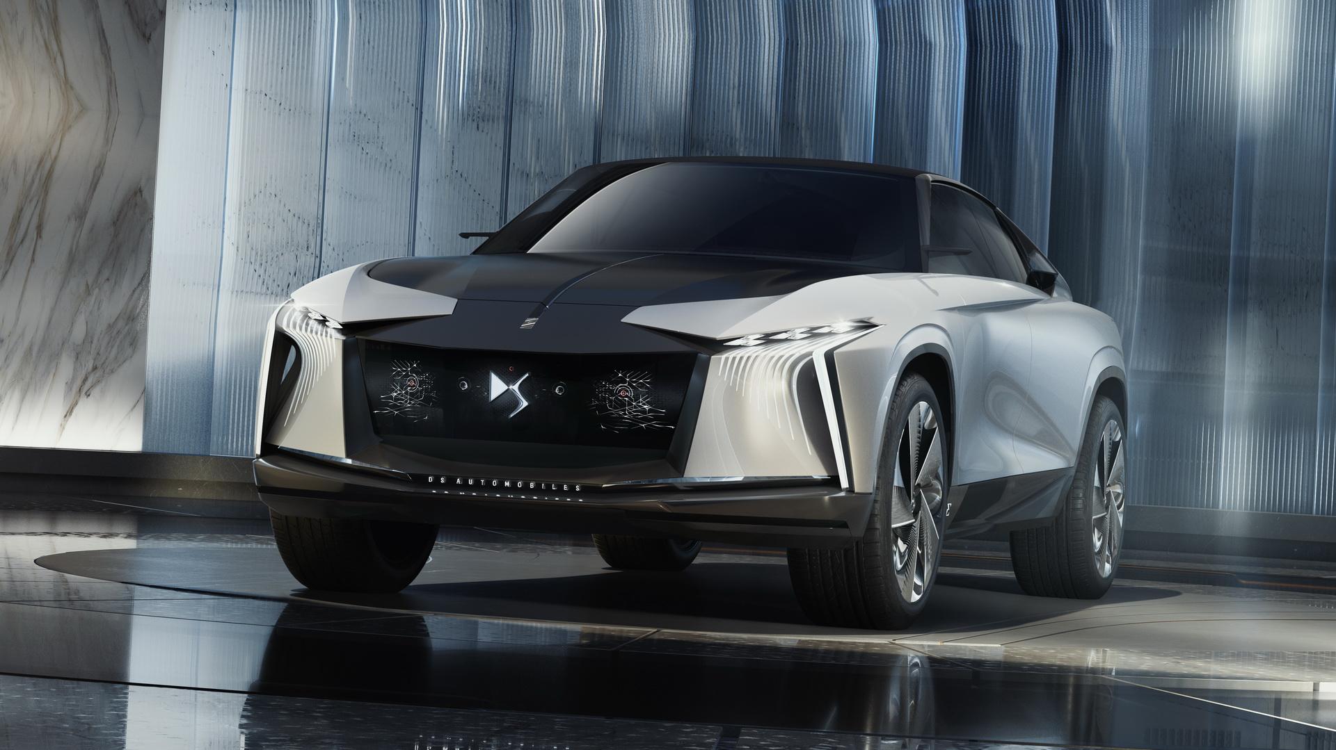 DS Aero Sport Lounge, um SUV elétrico vindo do futuro