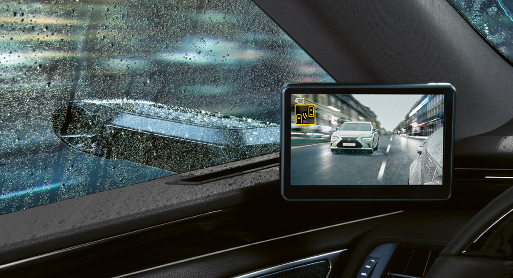 Lexus ES vai deixar de usar os espelhos convencionais em favor de câmaras