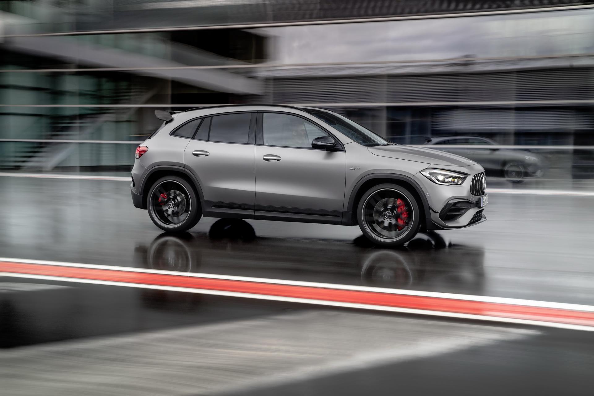 Mercedes revela GLA AMG 45 e 45S, crossover com 387 CV