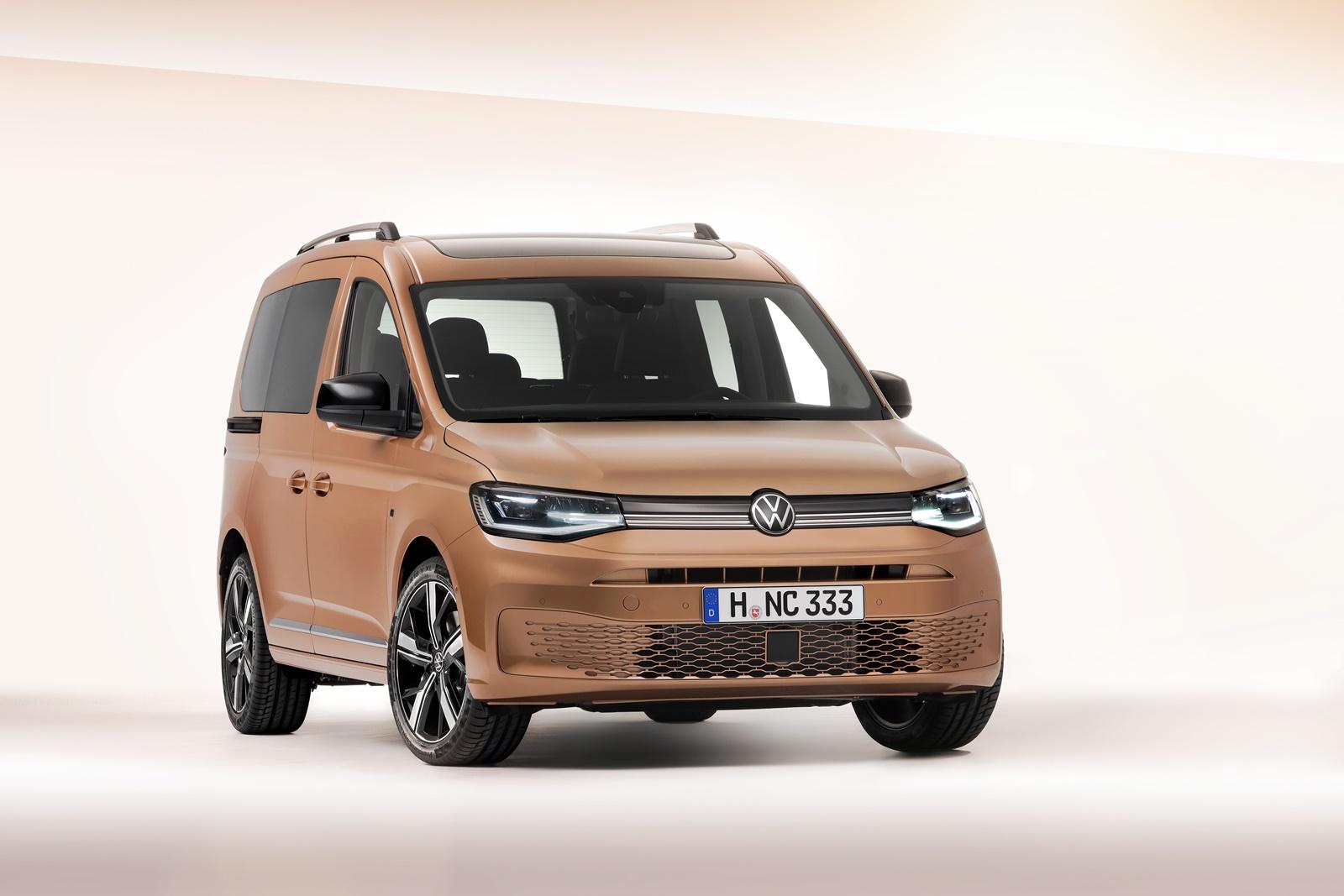 Aqui está o novo VW Caddy com plataforma MQB e estilo renovado