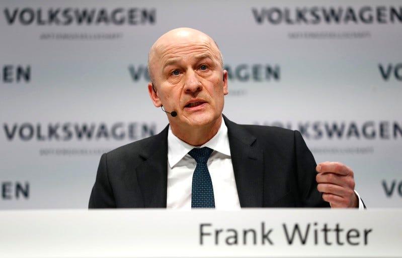 Volkswagen está à procura de um novo diretor financeiro