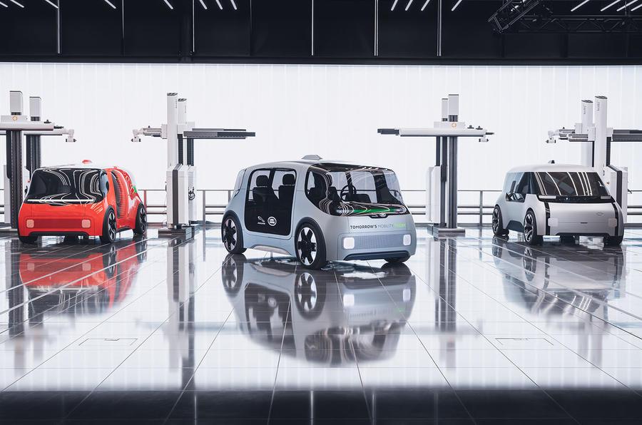 """Jaguar Land Rover revela o seu projeto de mobilidade autónoma """"Destination Zero"""""""