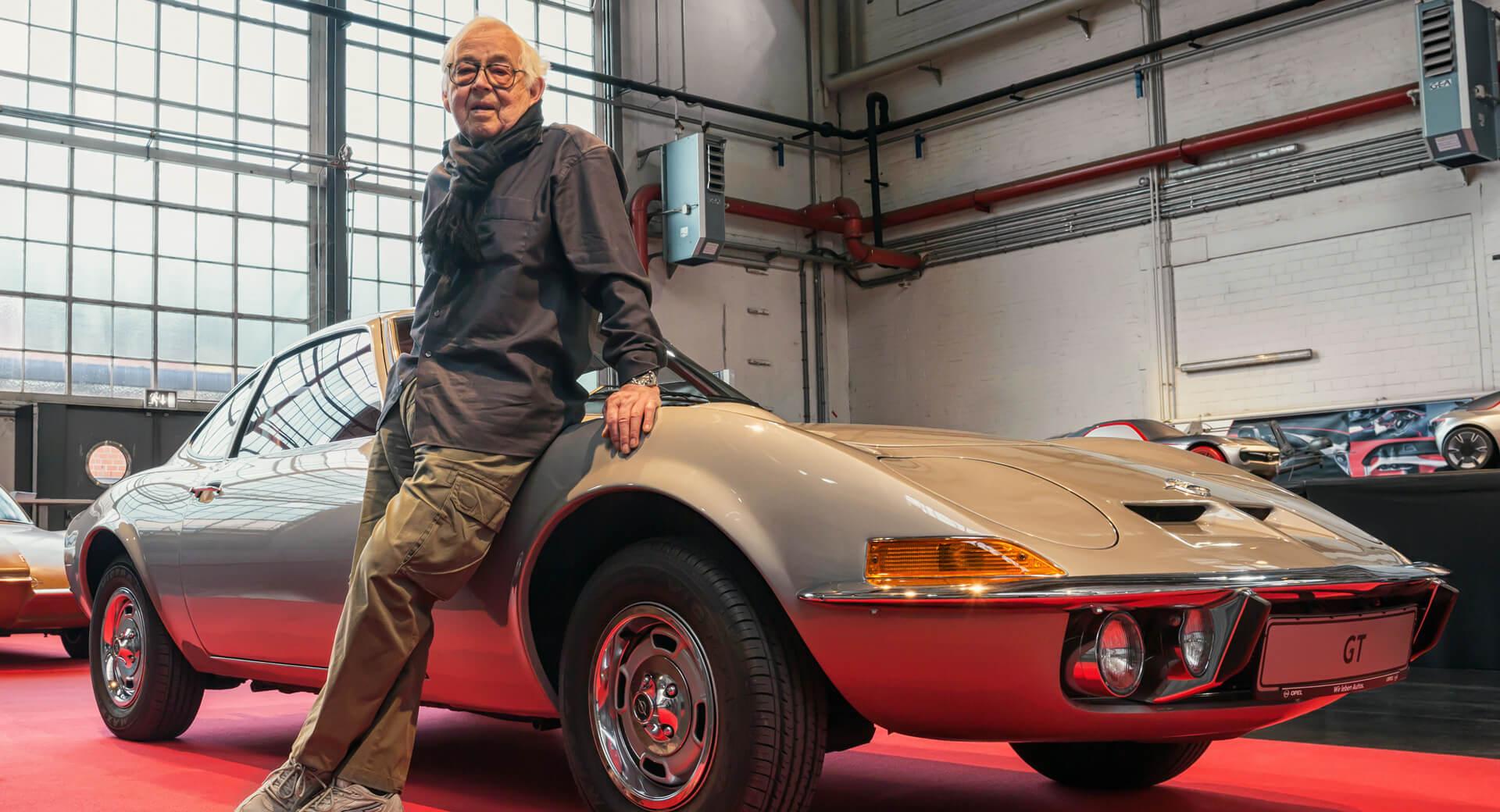 """Erhard Schnell, """"pai"""" do Opel GT e do Opel Calibra faleceu aos 92 anos"""