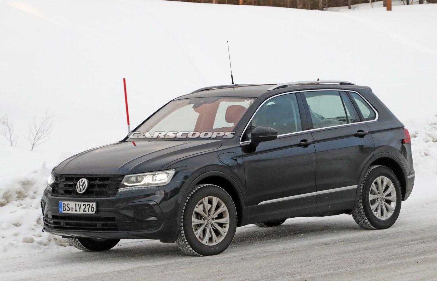 """VW Tiguan GTE PHEV """"apanhado"""" em testes"""