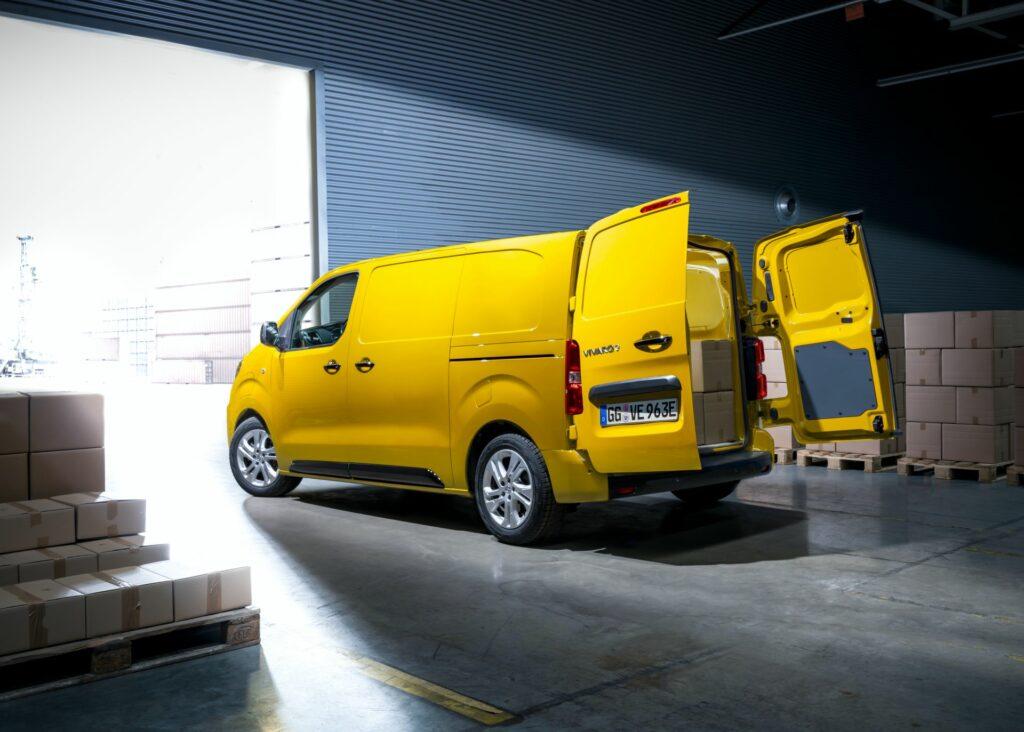 Opel lança no outono a versão elétrica do Vivaro com 230 ...